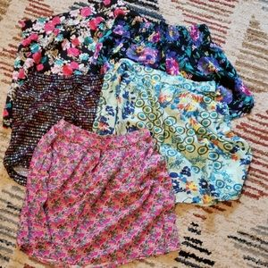 Bundle of S/M skirts